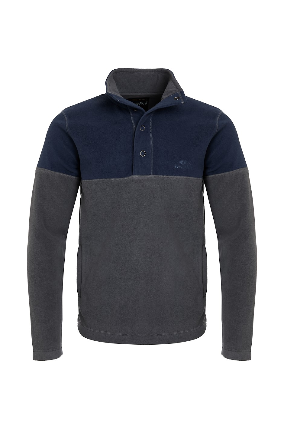Denzel Recycled Embossed Microfleece Cement
