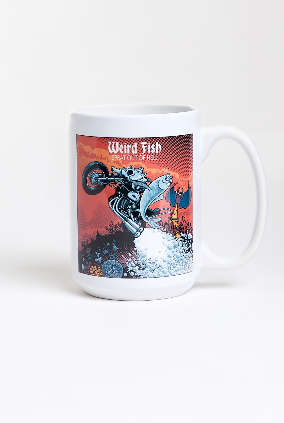 Sprat Out Artist Tee Mug