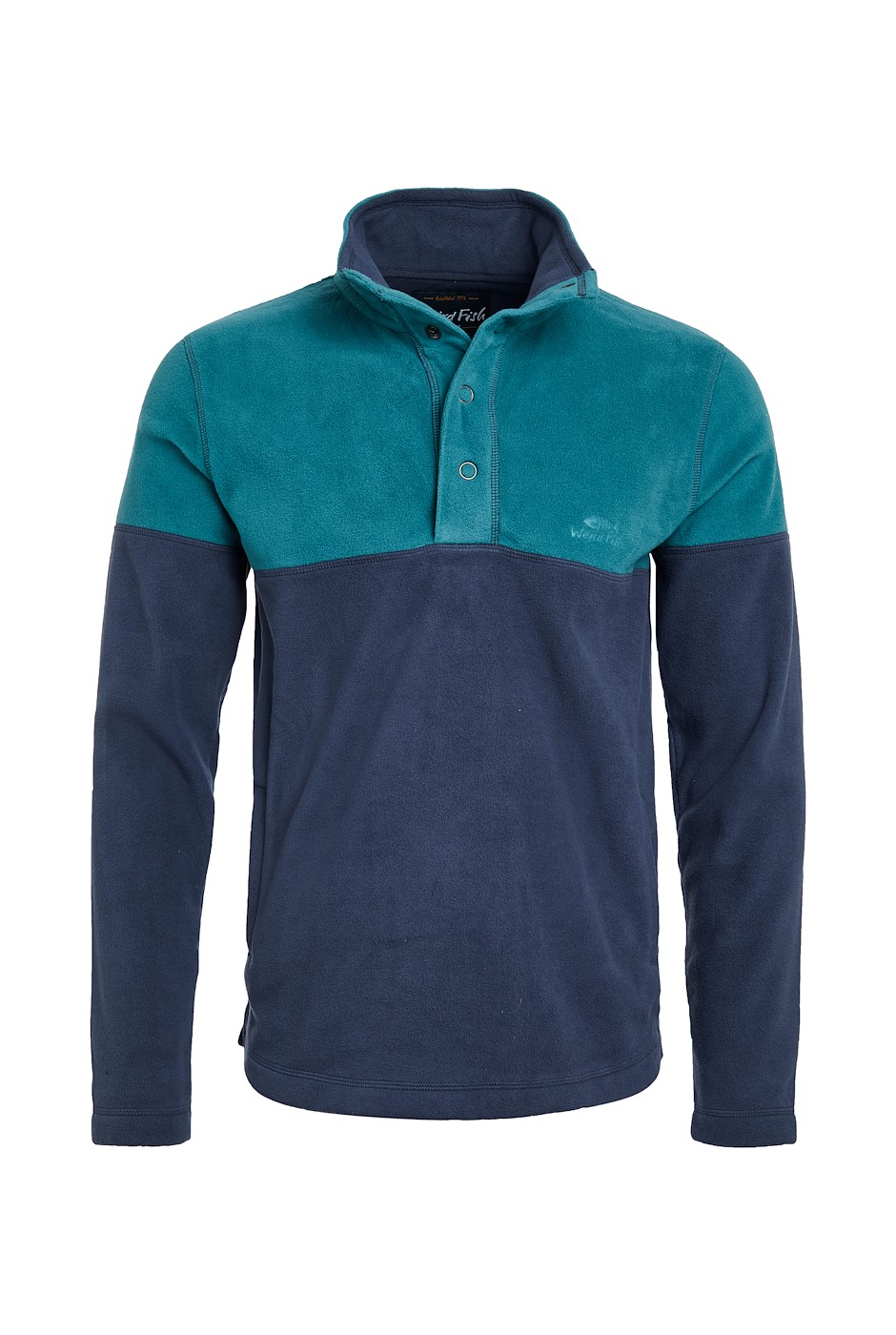 Denzel Recycled Embossed Microfleece Navy