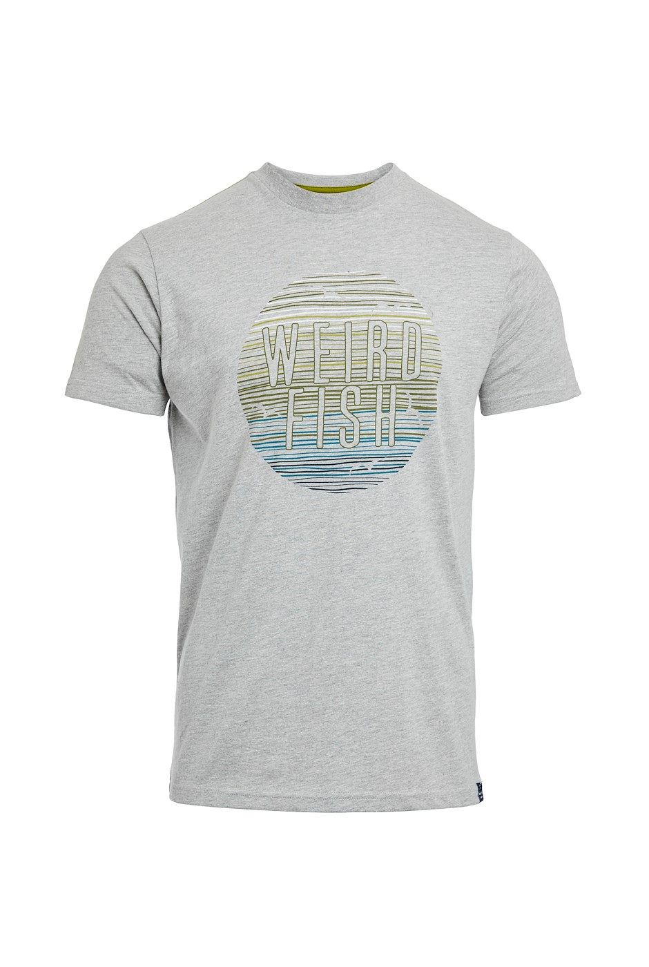 Sunset Branded Graphic T-Shirt Grey