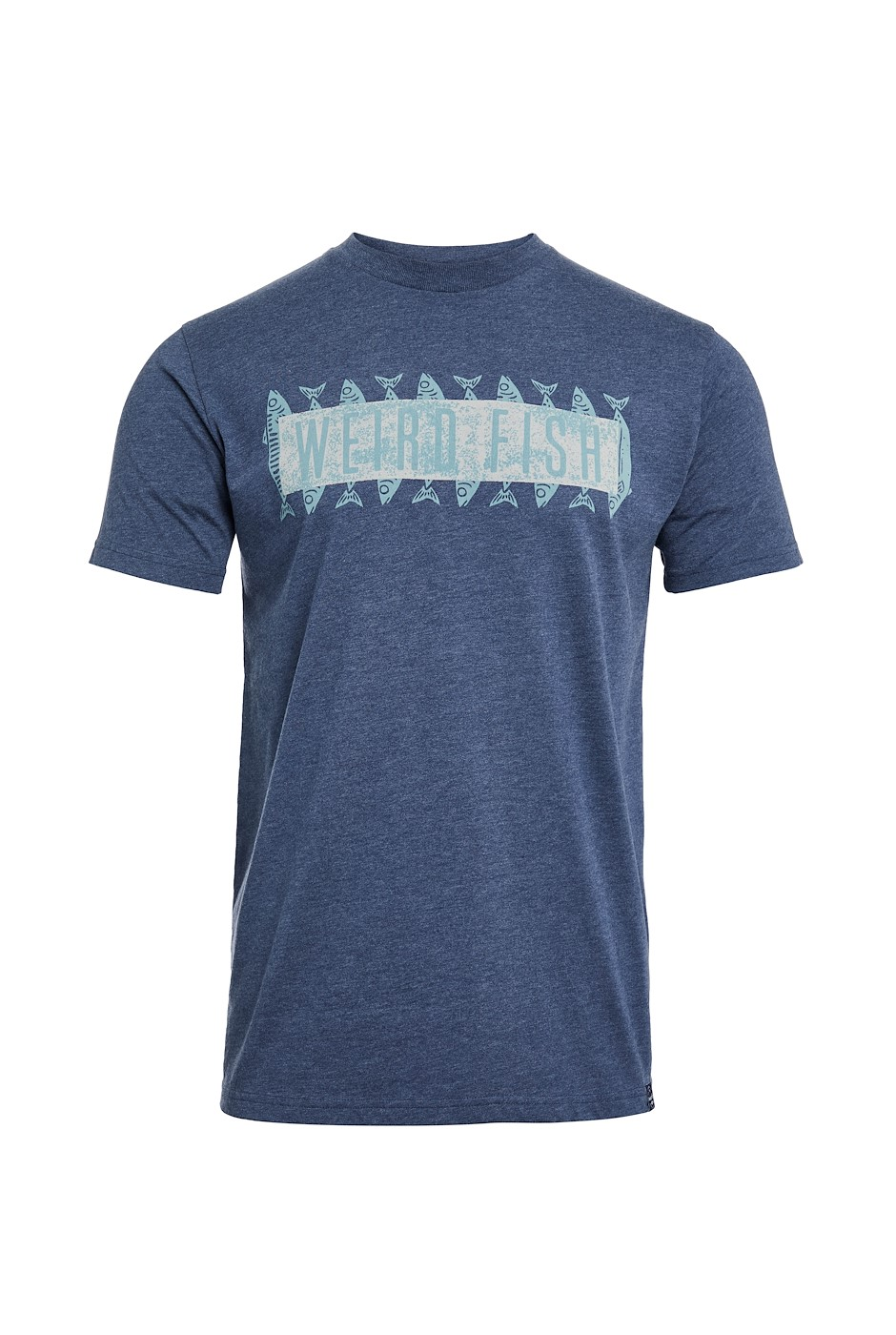 Mackie Eco Branded Graphic T-Shirt Navy